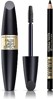 MAX FACTOR False Lash Effect Epic Mascara Black with Kohl Pencil Eyeliner 20 Black, 13g - Pack of 1