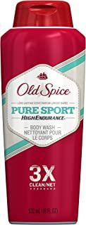 Old Spice High Endurance Pure Sport Body Wash 18 oz (Pack of 2)