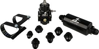 Aeromotive 17256 Fuel System, Stealth, Bypass Carb (Regulator, Filter, Filter Bracket, Gauge, Fittings)