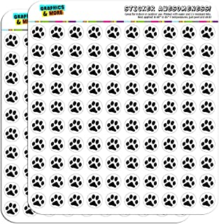 Paw Print Pet Dog Cat 1/2