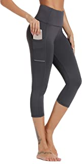 Olacia Yoga Leggings with Pockets High Waisted Yoga Pants...
