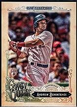 Baseball MLB 2017 Topps Gypsy Queen #282 Andrew Benintendi RC Red Sox