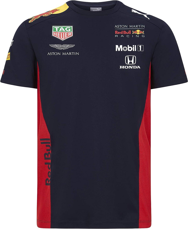 Aston Martin Official Mens T-Shirt Sponsor F1 Racing Formula Team RB