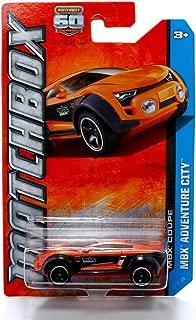 MBX COUPE (Orange) * MBX ADVENTURE CITY * 60th Anniversary Matchbox 2013 Basic Die-Cast Vehicle (#107 of 120)