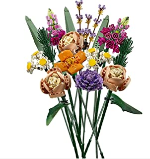 Building Blocks Bouquets, Immortal Flowers, Roses, Ornaments, New Products, Small Particle Building Blocks, Educational De...