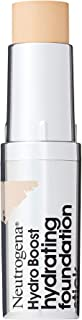 Neutrogena Hydro Boost Hydrating Foundation Stick with Hyaluronic Acid, Oil-Free & Non-Comedogenic Moisturizing Makeup for...