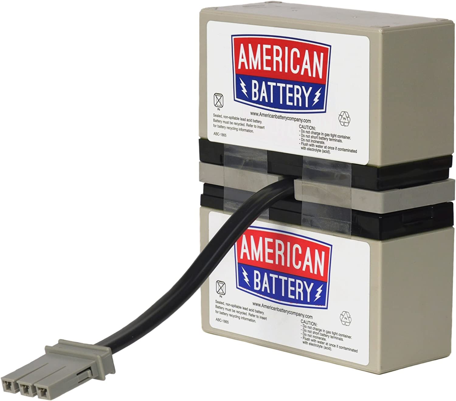 RBC32 UPS Replacement Battery for APC By American Battery