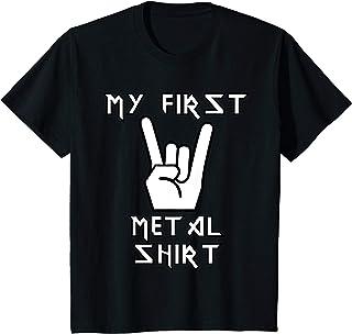 Heavy Metal Kinder Shirts Kinder My First Metal Shirt TShirt Heavy Metal Shirt Geschenk Idee