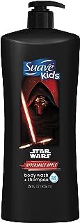 Suave Kids 2n1 Body Wash & Shampoo, Star Wars Kylo-Ren Apple, 28 oz