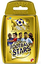 World Football Stars Top Trumps Card Game - Gold Case