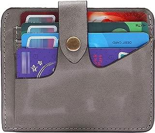 BIG SALE-AINIMOER Women's RFID Blocking Leather Small Compact Bifold Pocket Wallet Ladies Mini Purse with id Window