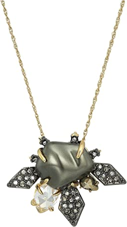 Alexis Bittar - Crystal Encrusted Starburst Pearl Pendant Necklace