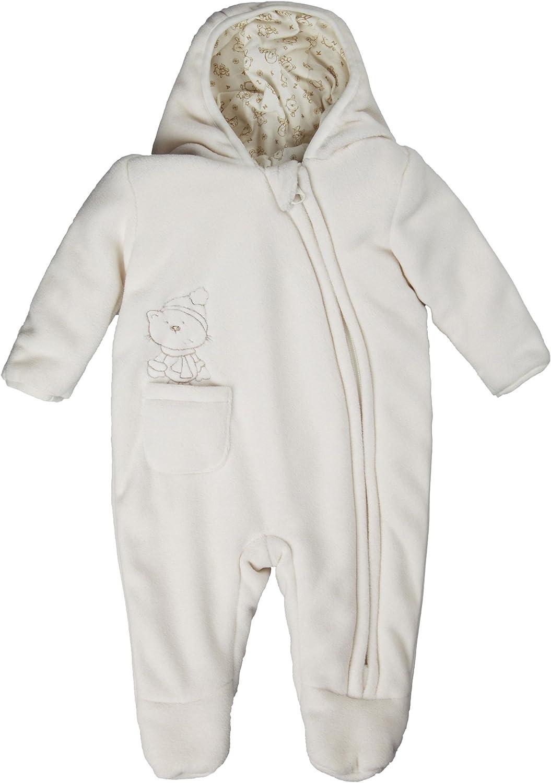 Kanz Unisex Baby Schneeanzug Fleeceoverall m Kapuze 0003518