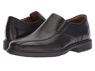 Rockport Dressports Luxe Bike Toe Slip On (Black) Men