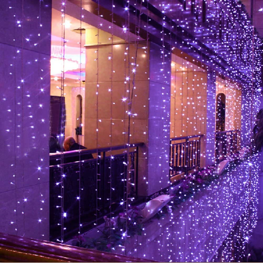 8 Modes Indoor Outdoor Led Curtain Light Selling and selling Win San Diego Mall Lights Fairy String