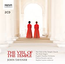 the veil of the temple tavener