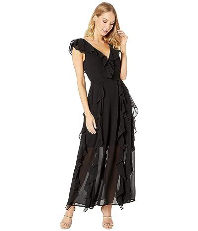 Bardot Emily Frill Dress (Black) Women