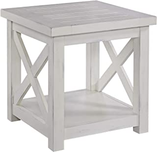 Seaside Lodge White End Table by Home Styles