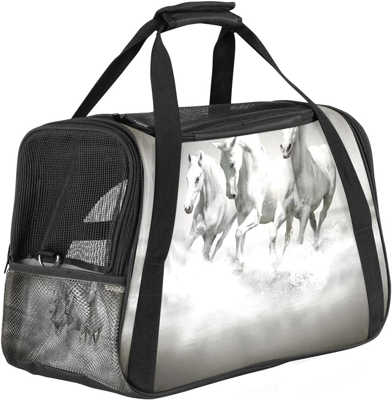 Airline Approved Pet Carriers Max 88% OFF Spring new work Soft Travel Collapsible Sided