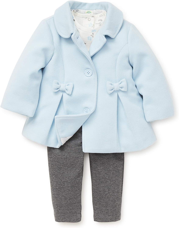 Little Me Baby Girls Jacket Set Outerwear