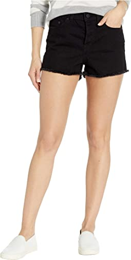 Suns Shadow Black Denim Shorts