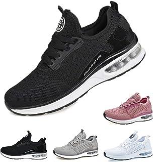 حذاء رياضي TQGOLD Air Cushion للرجال والنساء مسامي للمشي رياضي لممارسة الرياضة والركض