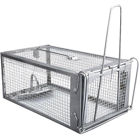 Gingbau Live Chipmunk Trap Humane Rat Mouse Cage Trap