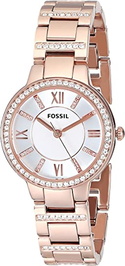 Fossil ES3284 Virginia Three Hand Stainless Steel Watch