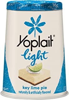 Yoplait Light Fat Free Yogurt Key Lime Pie 6.0 oz Cup