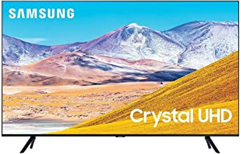 SAMSUNG 50-inch Class Crystal UHD TU-8000 Series - 4K UHD HDR Smart TV with Alexa Built-in (UN50TU8000FXZA, 2020 Model) (R...