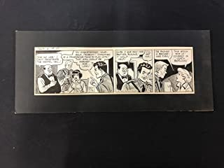 Ella Cinders Original Newspaper Comic Strip Art June 19 1956