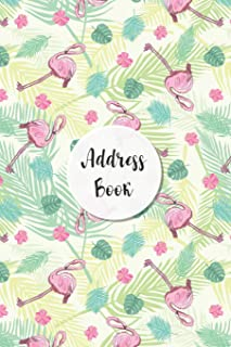 Address Book: Summer Flamingo Design - Keep Your Important Contacts in The One Organizer Name, Addresses, Email, Phone Num...