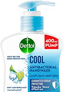 Dettol Cool Handwash Liquid Soap Pump for effective Germ Protection & Personal Hygiene (protects against 100 illness causi...
