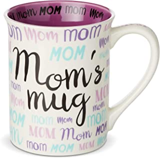 Enesco 6003380 Our Name is Mud Mom Nickname Coffee Mug, 16 Ounce, Multicolor