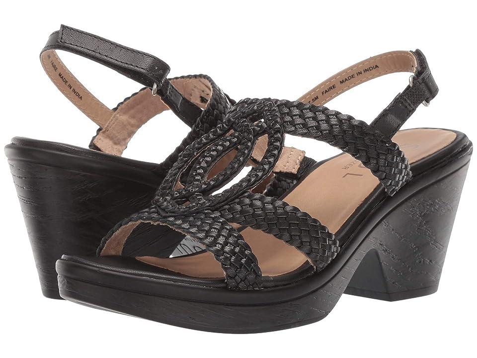 SOUL Naturalizer Faire (Black Leather) High Heels