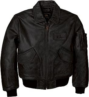 Men's Leather CWU 45/P Bomber Jacket