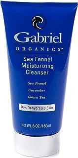 Gabriel ORGANICS, Sea Fennel Moisturizing Cleanser, with Cucumber,Green Tea, 6 oz,Natural