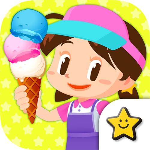 『アイスクリーム屋さんごっこ-お仕事体験知育アプリ』の1枚目の画像