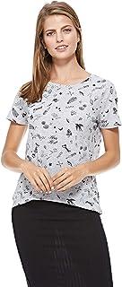 Tally Weijl T-Shirt for Women - Grey