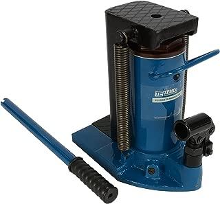 TEMCo TH0026 Hydraulic Machine Toe Jack Lift 10 / 20 TON Track 5 Year Warranty. ANSI/ASME B30.1 Compliant.