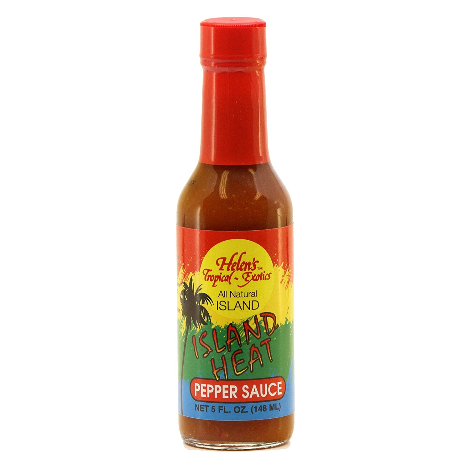 Helen's Tropical-Exotics Island Large 40% OFF Cheap Sale special price Heat Hot Sauce- – Perf 5oz.