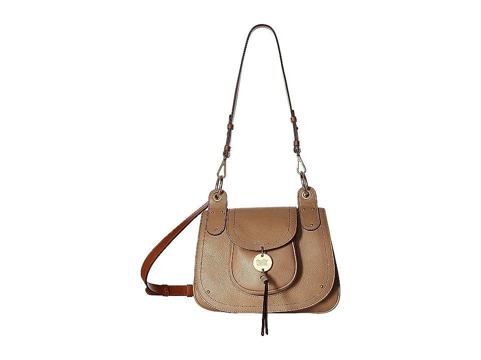 See by Chloe Susie Large Leather Crossbody (Nomad Beige) Cross Body Handbags