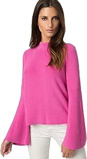 Women's Cotton Bell Sleeve Sweater