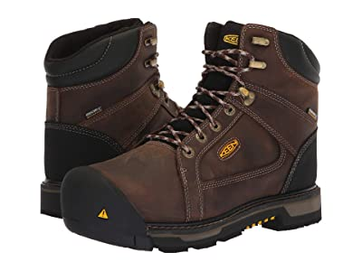 Keen Utility Oakland Steel Toe Waterproof (Chestnut/Black) Men