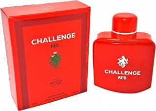 Challenge Red Cologne 3.4 fl. oz. EDT For Men Our Version L.12.12 Rouge Spray Fragrance