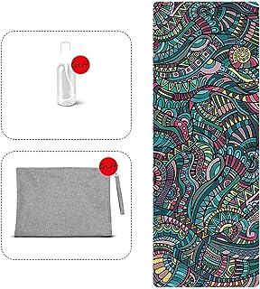 YXJBD Thin Yoga towel Yoga Towel Microfibre Towel Easy Folding And Carry Bag yoga towels for mats
