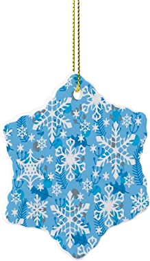 None-brands 2020 Christmas Ornament Quarantine Xmas Tree Decoration, Ceramic Christmas Ornament Presents for Family Friend Me