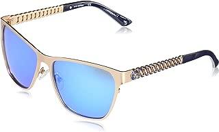 Women's Metal Square GU7403 Square Sunglasses