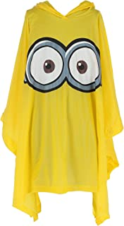Illumination Entertainment Kid's Despicable Me Minion Rain Poncho