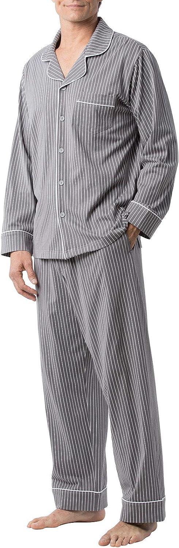 Genuine PajamaGram Classic Mens Pajamas Men Ranking TOP15 - Set Cotton